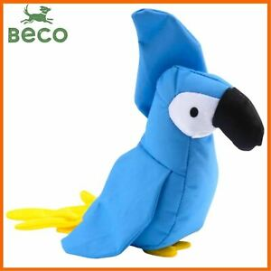 Beco eco - Recycled Soft Parrot dog toy