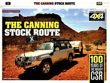 4X4 AUSTRALIA: THE CANNING STOCK ROUTE - Part 1 DVD TV SERIES Pat Callinan R0