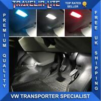 VW Transporter Footwell LED Lights Upgrade Kit & Trim Removal Kit T5 T5.1 T6
