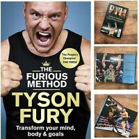 Tyson Fury The Furious Method Transform your Mind, Body and Goals Hardback