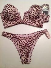 Victoria's Secret NATATION NEUF ANIMAL L/L sans bretelle remontant bandeau 36c,