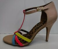 Jessica Simpson Size 8.5 Beige Pink Sandals New Womens Shoes