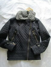 Barbour Quilted Black Jacket Size 10