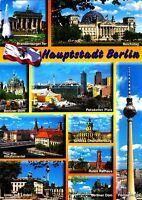 Hauptstadt Berlin , Ansichtskarte, 2011 gelaufen