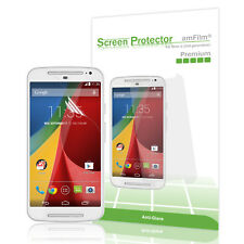Moto G2 amFilm Premium Anti-Glare/Fingerprint Screen Protector (3 Pack)