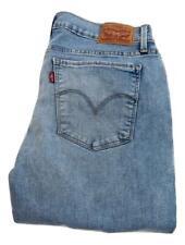 Neues AngebotLevi 710 Super Skinny Stretch Jeans Größe 12 Taille 31 Bein 30 Reißverschluss (p0615)