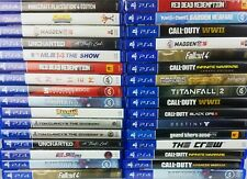 PS4 Games Large Selection (Very Good Condition) - Authentic