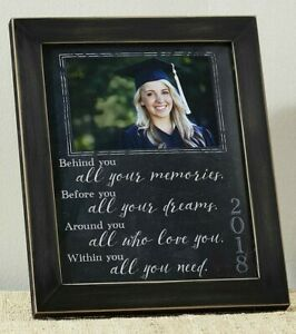 Class of 2018 Graduate Sentiment Photo Picture Frame NEW