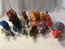 Pretend Play Animals Figures Preschool Daycare Toy Lot Of 16 Plastic Dinosaurs