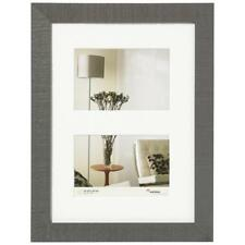 """Walther Home Gallery 6x4"""" 2 Aperture Frame Grey HO215D"""