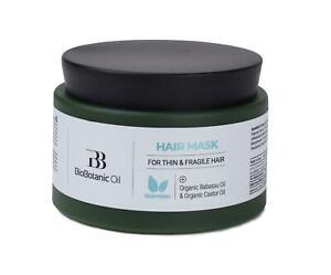 BB Bio Botanic Hair Mask for Fragile Thin Hair Castor & Babasso oil