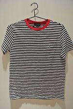 NWT.Polo Ralph Lauren  multi color striped crewneck short sleeve t-shirt;L(14-16