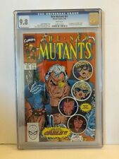 New Mutants #87 CGC 9.8 -1st Appearance of Cable