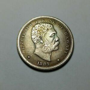 Coin one dollar Kingdom of hawaii 1883