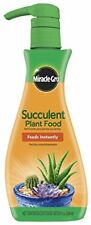 Miracle Gro 1000531 Foaming Succulent Plant Food 8 Oz