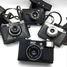 Smena 7 Smena 8 Elikon Vilia Soviet Vintage Film Cameras Lot of 4 35 mm Lomo