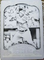 RYAN LAVARNWAY 2012 Topps Gypsy Queen Black PRINTING PLATE SP #1/1 of 1 Red Sox