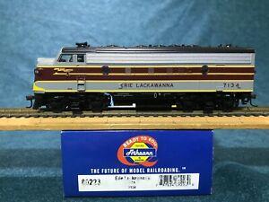 Athearn EL Erie Lackawanna Railway F7A HO Scale Diesel Locomotive OOP