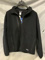 Patagonia Mens Large Micro Synch Black Fleece Jacket (New With Tags)
