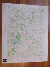 Walkerton Indiana 1960 Original Vintage USGS Topo Map