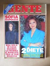 GENTE n°21 1991 Sofia Loren Sabatini Gabriella Edwige Fenech Redford [M22]