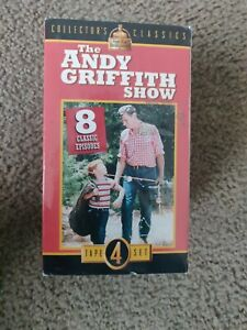 The Andy Griffith Show 4 Pack VHS 2001 4-Tape Set Collectors Classics New sealed