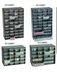 MULTI DRAWER STORAGE CABINET HOME GARAGE NAIL SCREW CRAFT BITS ORGANIZER HINCH