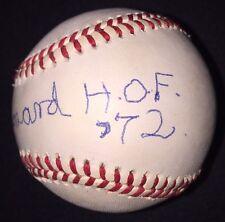 Buck Leonard AUTOGRAPHED SIGNED BASEBALL OAL Vintage JSA HOF 72 Inscribed Grays
