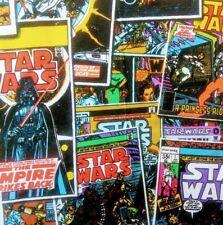 Star Wars Retro Comic Cotton Fabric,110cm wide-Per 10cm  SW9
