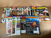 Workbench Magazine LOT OF 19 - 1990s - Woodworking Wood