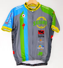 Pactimo Tucson Arizona Cycling Jersey S/S Bicycle Full Zip Bike Shirt Mens Small