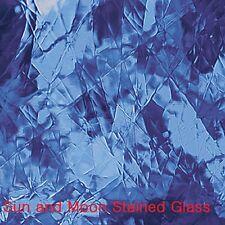 """8 X10"""" Spectrum Glass Sheet S 132A - Light Blue Artique Stained Glass Sheet"""
