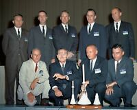 """""""THE NEW NINE"""" GROUP OF ASTRONAUTS IN 1962 - 8X10 NASA PHOTO (AB-807)"""