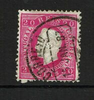 Portugal SC# 40, Used, two shallow ctr thins, embossing thins, see notes - S9830