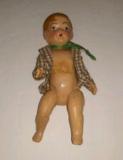 """Vintage 10"""" Composition Boy Doll Unmarked"""