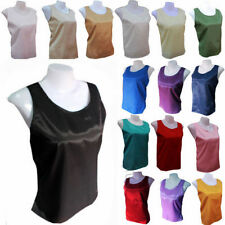 Handmade Regular Size Casual Sleeveless Tops for Women