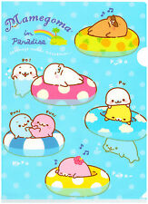 San-x Mamegoma in Paradise Kawaii Plastic File Folder