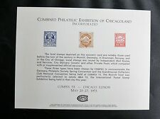 COMPEX 73 CHICAGO - ENCART SPECIAL - 25 / 27 MAY 1973 - EN TRES BON ETAT