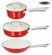 Ollas y cacerolas de cocina color principal rojo de hierro fundido