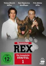 KOMMISSAR REX-DIE KOMPLETTE 1.STAFFEL - HAJEK,PETER-MORETTI,TOBIAS  3 DVD NEU