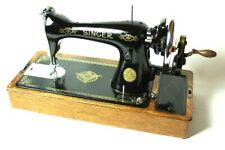 Vintage Singer 15k Hand Crank Sewing Machine c1939 [5366]