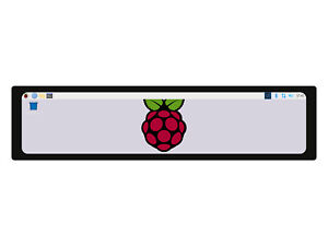 """Waveshare 11.9"""" Capacitive Touch Screen LCD for Raspberry Pi IPS Display Monitor"""