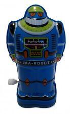 Roboter aus Blech, blau, I AM A ROBOT, WUTR, Schylling