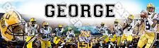 """LSU Tiger Poster Banner 30"""" x 8.5"""" Personalized Custom Name Printing"""