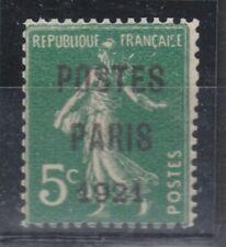 FRANCE PREOBLITERE N° 28  Neuf xx TB signé - Cote 1700 €