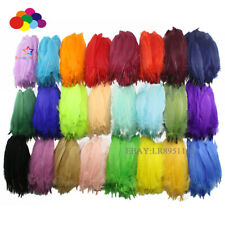 100pcs super quality Goose Satinettes Loose feathers 5-8In/13-20cm Wedding Dress