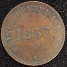 1857 Self Government & Free Trade Token, PE-7 C2, pg. 15, XF Prince Edw. Isl. #2