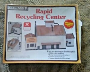 LIFE LIKE N SCALE RAPID RECYCLING CENTER 7473 NEW SHRINK WRAPPED
