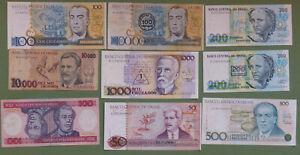 Billet Amérique - Brésil - lot de 17