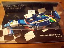 1/43 BENETTON 1997 RENAULT B197 JEAN ALESI FED-EX DECAL